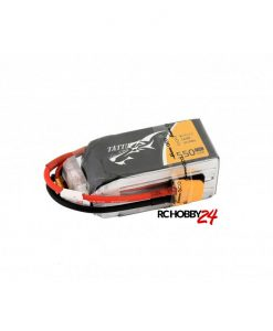 TATTU 1550mAh 14.8V 75C 4S1P Lipo Battery Pack - FPV Race Multirotors - XT60 - RcHobby24.com