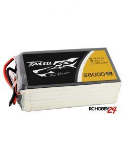 TATTU 28000mAh 22.2V 25C 6S1P Lipo Battery Pack - UAV Multirotor - RcHobby24.com