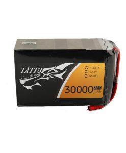 TATTU 30000mAh 22.2V 25C 6S1P Lipo Battery Pack - UAV Multirotor - RcHobby24.com