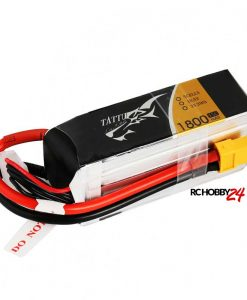 TATTU 1800mAh 18.5V 45C 5S1P Lipo Battery Pack - FPV Racing Multirotors - XT60 - Walkera - DJI - www.RcHobby24.com