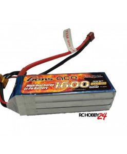 Gens ace 1600mAh 11.1V 40C 3S1P Lipo Batteri - www.RcHobby24.com