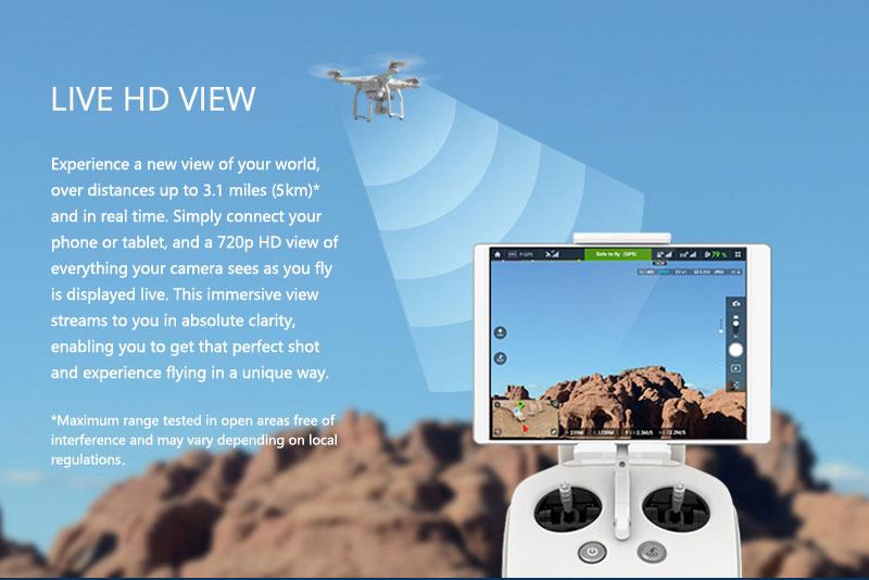 DJI Phantom 3 Advanced HD View - www.RcHobby24.com