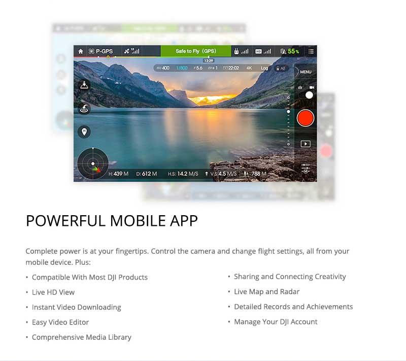 DJI Phantom 3 Professional GO Mobile APP - www.RcHobby24.com