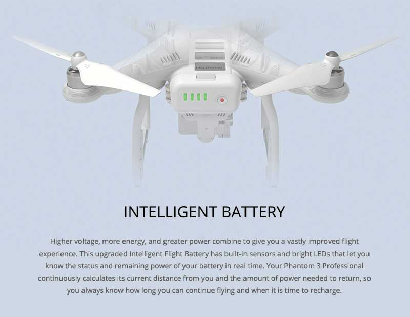 DJI Phantom 3 Professional Intelligent Battery - www.RcHobby24.com