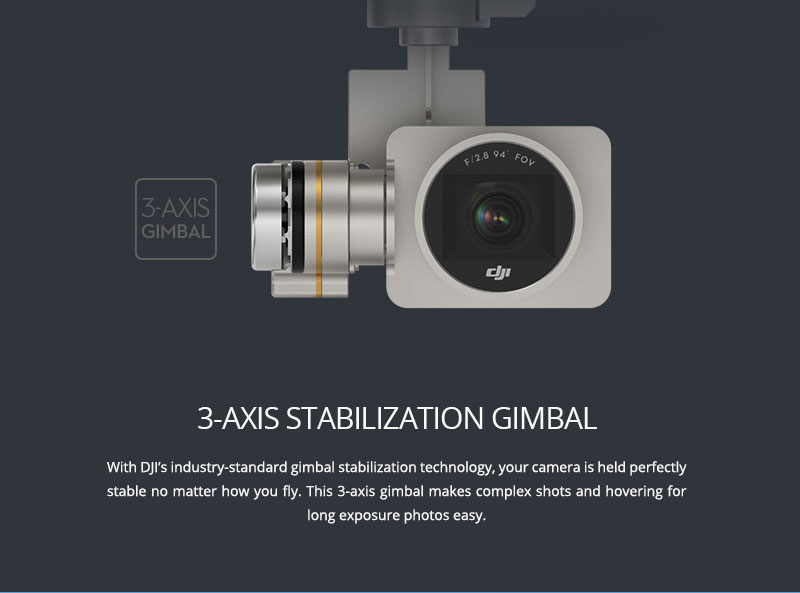 DJI Phantom 3 Professional 3-Axis Gimbal - www.RcHobby24.com
