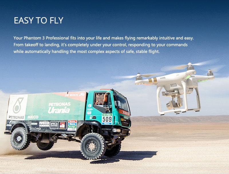 DJI Phantom 3 Professional Easy To Fly - www.RcHobby24.com