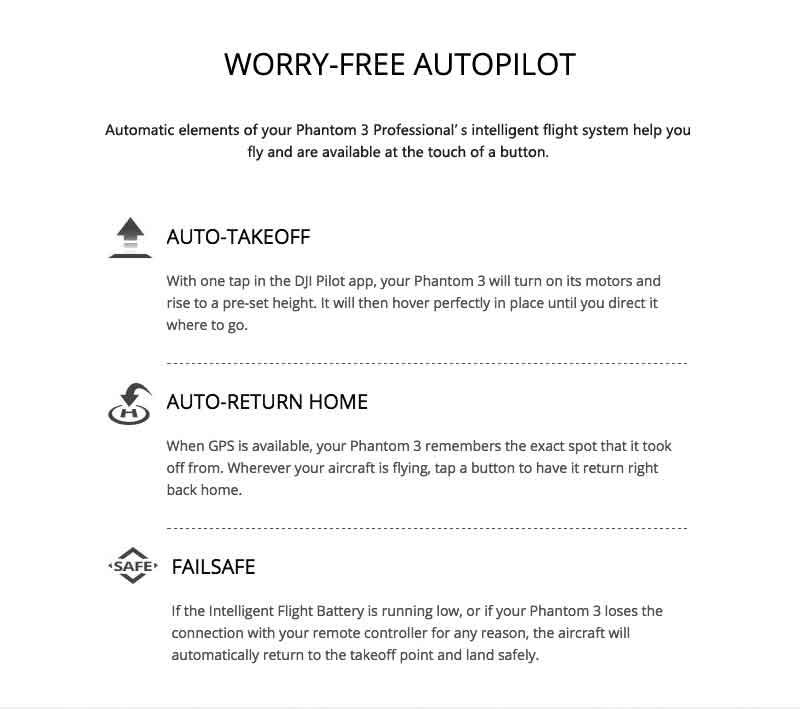 DJI Phantom 3 Professional Autopilot - www.RcHobby24.com
