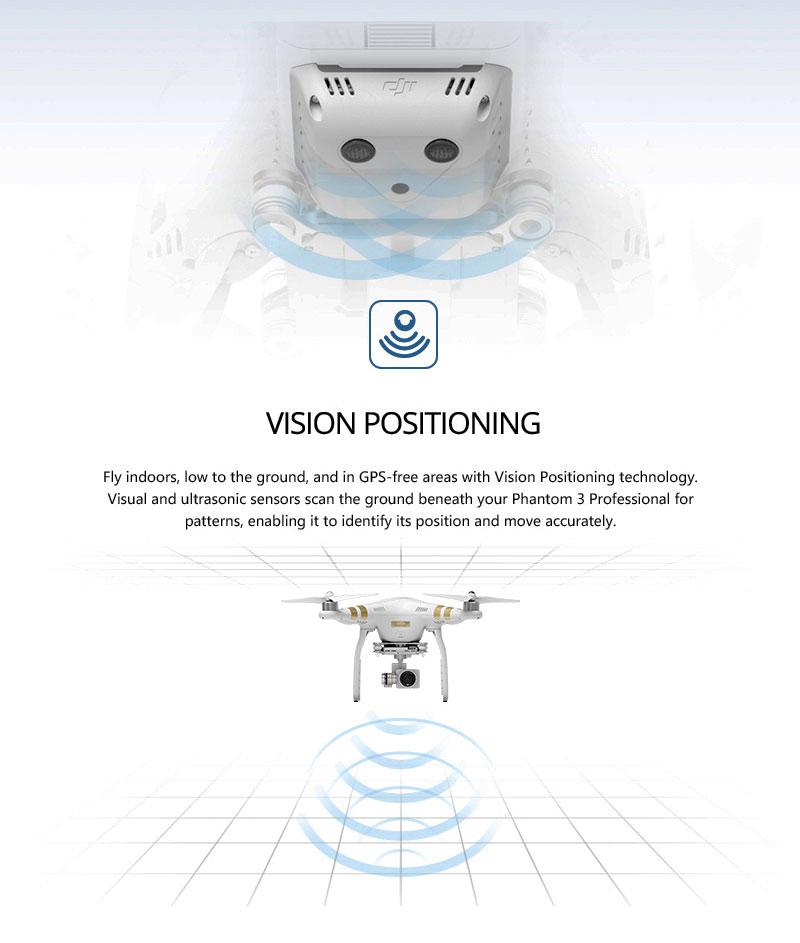 DJI Phantom 3 Professional Vision Positioning - www.RcHobby24.com