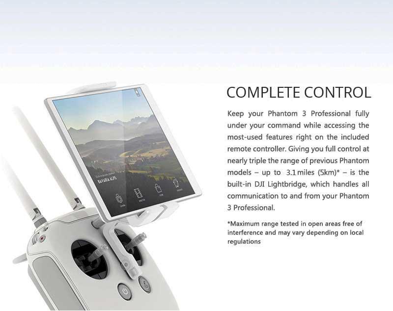 DJI Phantom 3 Professional Remote Control - www.RcHobby24.com