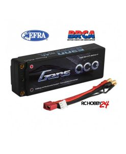 Gens ace 5300mAh 7.4V 65C 2S1P HardCase Lipo Battery 47# - DEAN-T - 1/8 & 1/10 RC Car Stock Racing - EFRA & BRCA Approved - www.RcHobby24.com