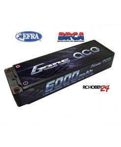 Gens ace 6000mAh 7.4V 70C 2S1P HardCase Lipo Battery 47# - DEAN-T - 1/8 & 1/10 RC Car Stock Racing - RcHobby24.com