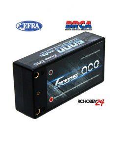 Gens ace 5000mAh 7.4V 50C 2S2P HardCase Lipo Battery 29# - DEAN-T - RC Car, RC Drifting Car 1/10 & 1/12 Racing, EFRA & BRCA Godkjent - www.RcHobby24.com