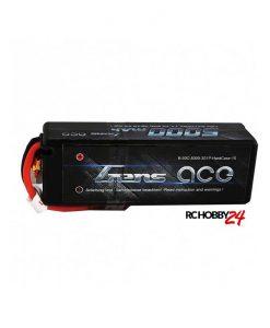 Gens ace 5000mAh 11.1V 50C 3S1P HardCase Lipo Batteri 13# - DEAN-T - RC Boat - 1/8 & 1/10 RC Car - www.RcHobby24.com