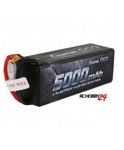 Gens ace 5000mAh 14.8V 50C 4S1P HardCase LiPo Battery 14# - DEAN-T - 1/8 - RC Car & RC Boat - www.RcHobby24.com