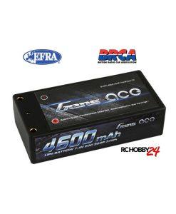 Gens ace 4600mAh 7.4V 60C 2S2P HardCase Lipo Battery 29# - DEAN-T - RC Car, RC Drifting Car 1/10 & 1/12 Racing, EFRA & BRCA Godkjent - www.RcHobby24.com
