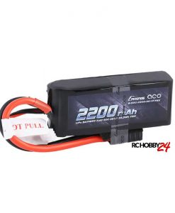 Gens ace 2200mAh 7.4V 50C 2S1P Lipo Battery Pack - TRAXXAS Connector - www.RcHobby24.com