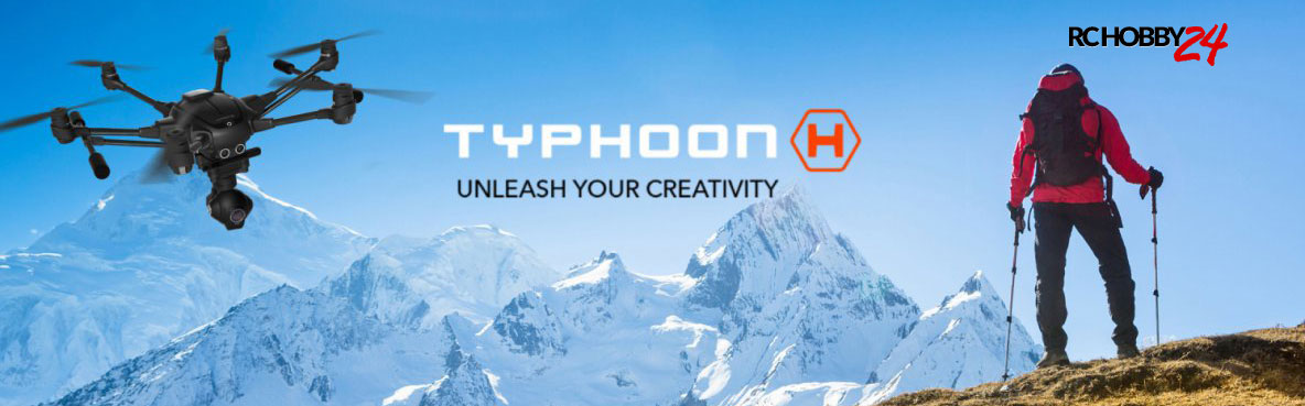 Yuneec Typhoon H Banner - www.RcHobby24.com