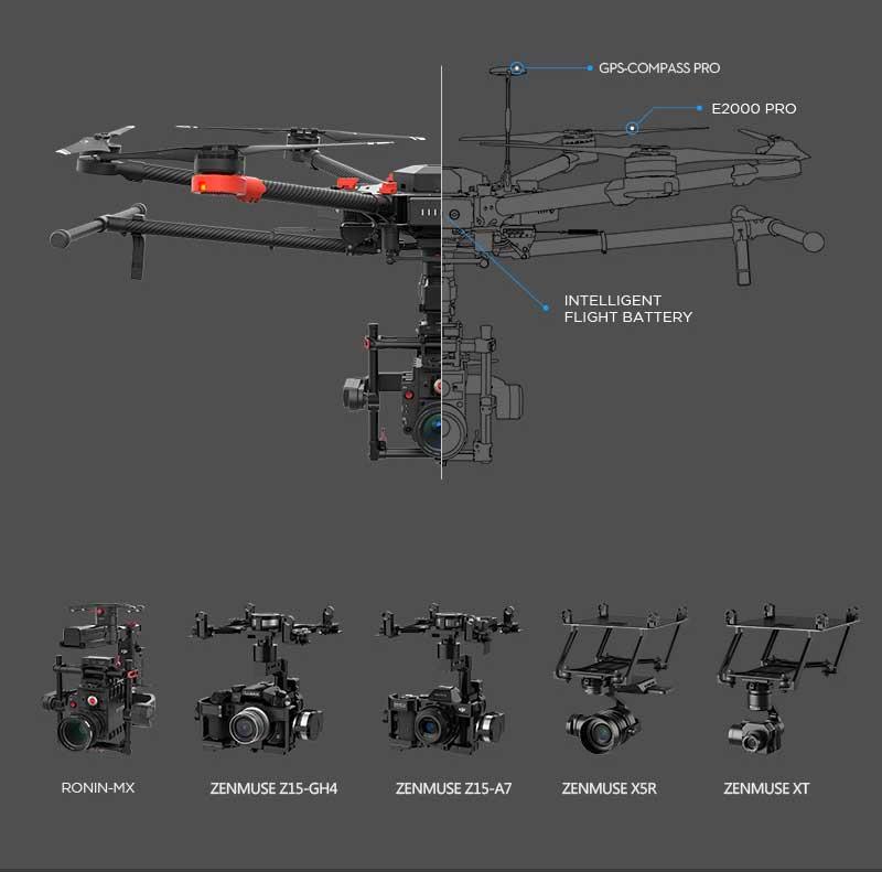 DJI Matrice 600 + RONIN-MX + Zenmuse - www.RcHobby24.com
