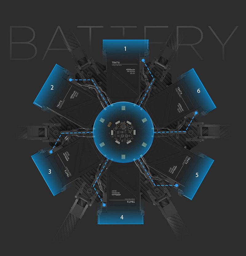 DJI Matrice 600 Info4 Battery - www.RcHobby24.com