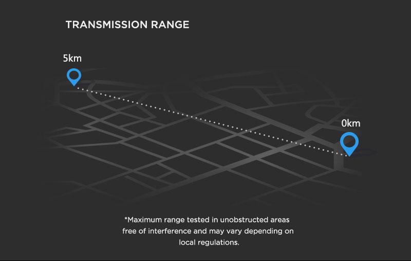 DJI Matrice 600 Info4 Transmission Range - www.RcHobby24.com