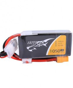 Tattu 1050mAh 11.1V 75C 3S1P Lipo Battery Pack - FPV Racing Multirotors - XT60 - www.RcHobby24.com