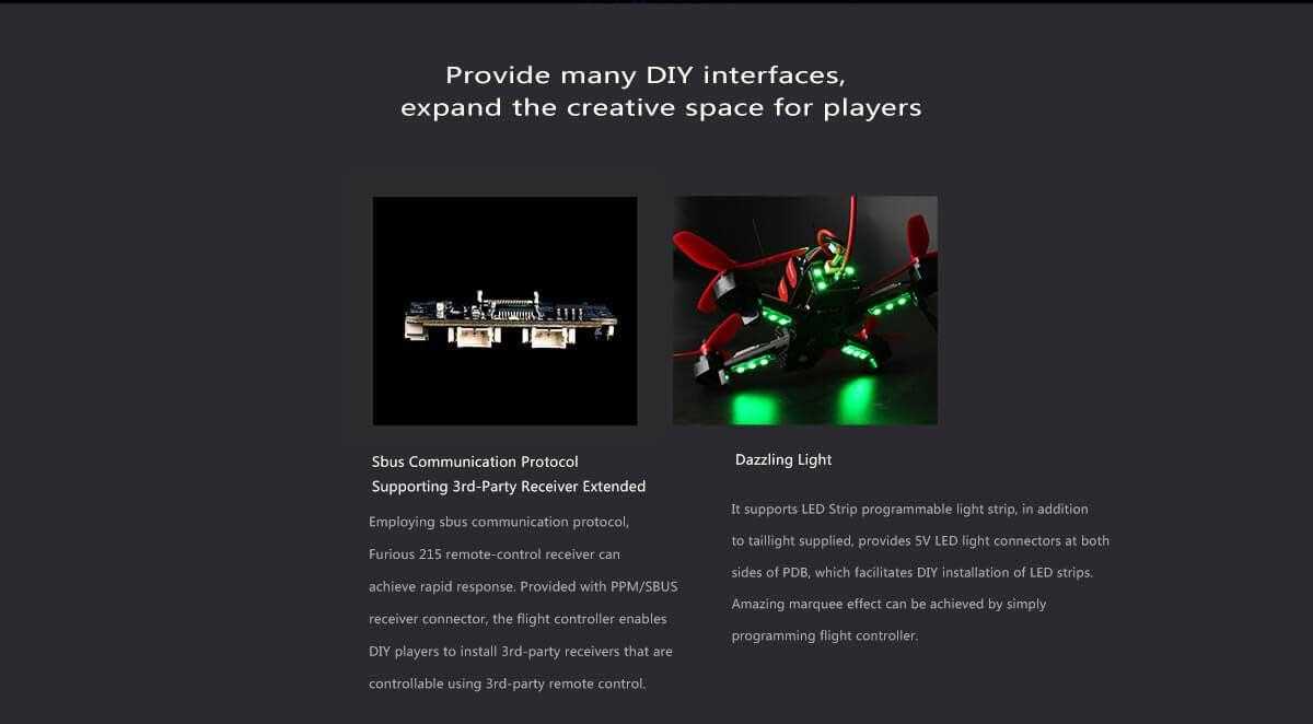 Walkera Furious 215 Racing Drone - Info13 - www.RcHobby24.com
