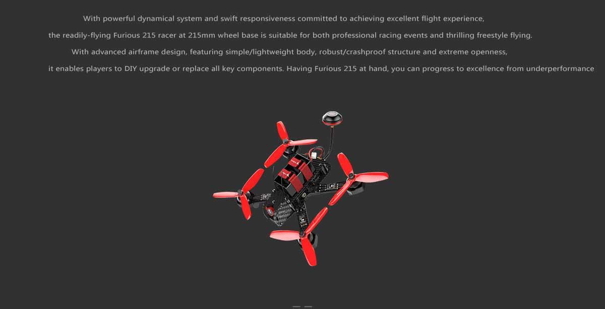Walkera Furious 215 Racing Drone - Info3 - www.RcHobby24.com