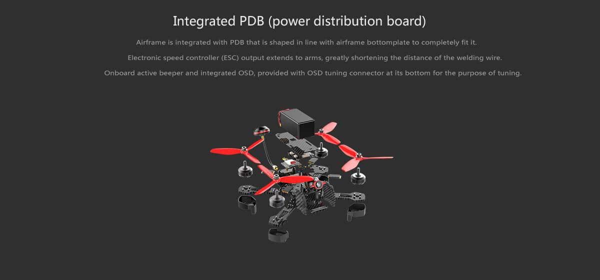 Walkera Furious 215 Racing Drone - Info8 - www.RcHobby24.com