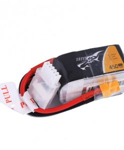 Tattu 450mAh 14.8V 75C 4S1P Lipo Battery Pack Multirotors - FPV Racing 150 Multirotors - XT30 - www.RcHobby24.com