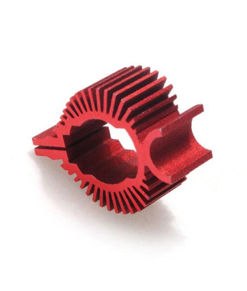 MJX-F45-050R Tail Motor Heat Sink Red2